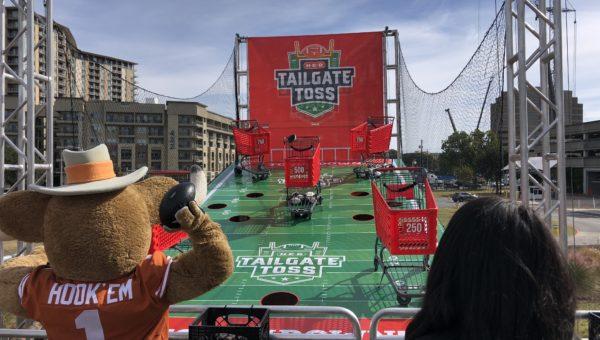 2019 University of Texas Football Season - Toss Up Events Case Study